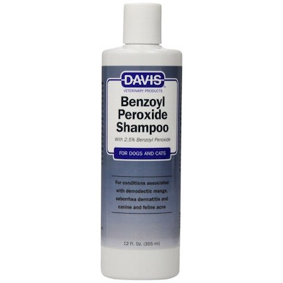 Davis Benzoyl Peroxide Pet Shampoo Florida Dog Grooming