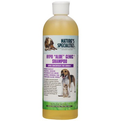 Nature's Specialties Hypo Aloe Genic Pet Shampoo Florida Dog Grooming
