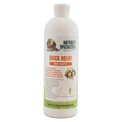 Nature's Specialties Quick Relief Neem Shampoo Florida Dog Grooming