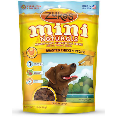 Zukes's Mini Naturals Healthy Moist Training Treats Florida Dog Grooming